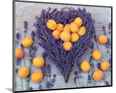 Lavender and Abricot--Mounted Art Print