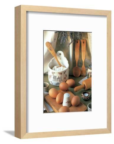 Morning Breakfast--Framed Art Print