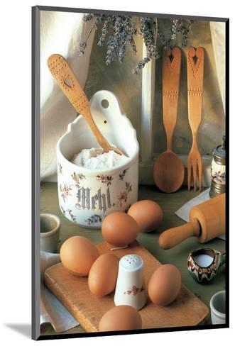 Morning Breakfast--Mounted Art Print