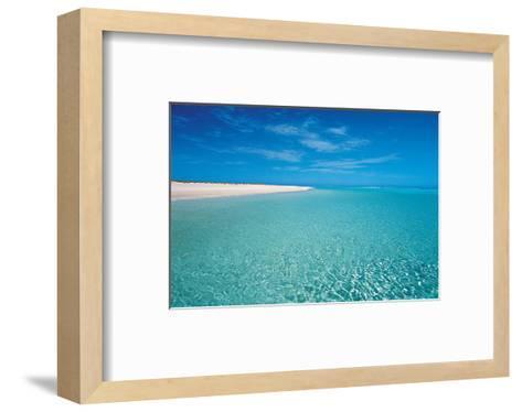 Seychelles Beach--Framed Art Print