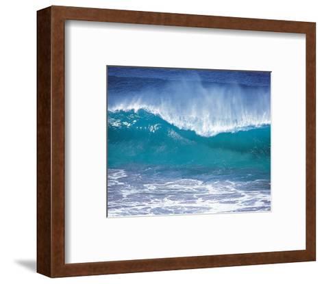 Fierce Waves--Framed Art Print