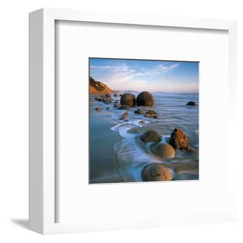 Coastal Rocks--Framed Art Print