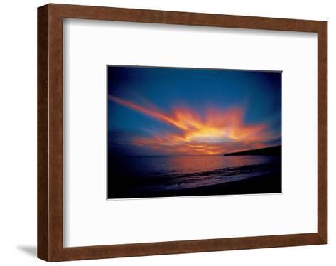 Lanai Island Hawaii--Framed Art Print