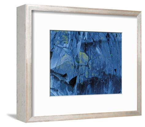 Blue Fragmentation--Framed Art Print