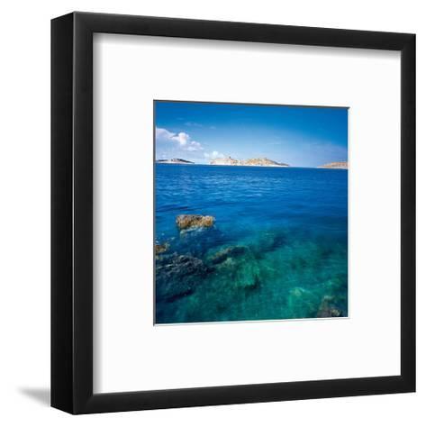 Islands Ahead--Framed Art Print