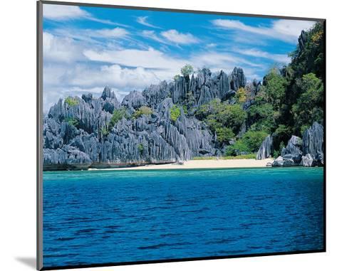 Palawan Coron Island--Mounted Art Print