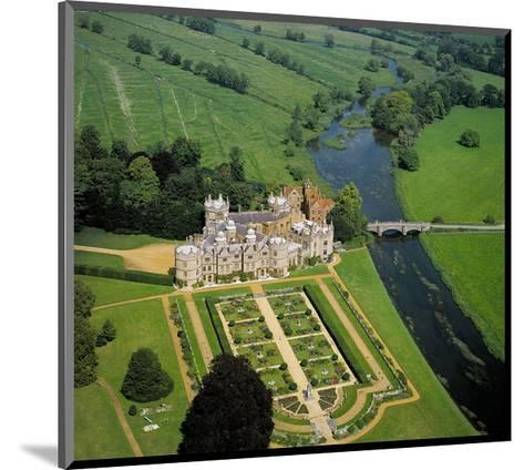 French Country Chateau--Mounted Art Print