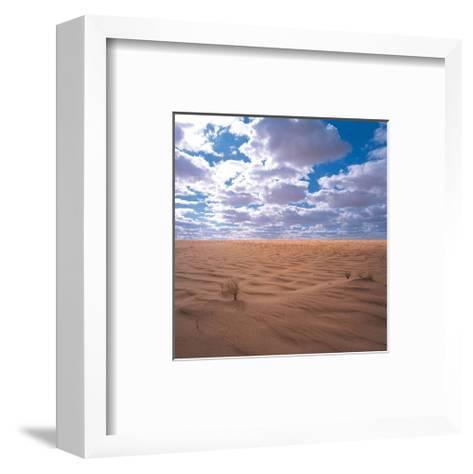 Desert Clouds--Framed Art Print