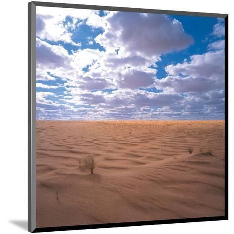 Desert Clouds--Mounted Art Print