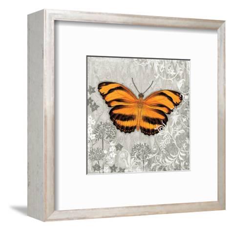 Orange Butterfly-Alan Hopfensperger-Framed Art Print