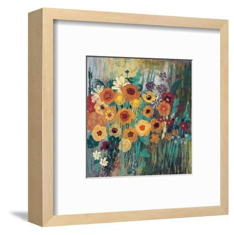Floral Frenzy Green-Alan Hopfensperger-Framed Art Print