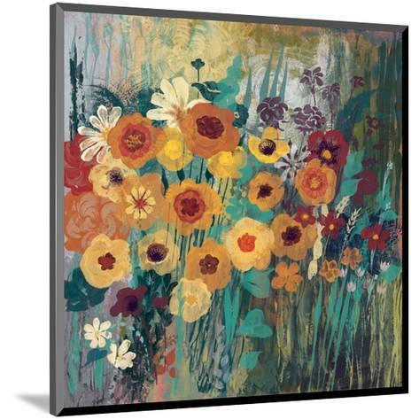 Floral Frenzy Green-Alan Hopfensperger-Mounted Art Print