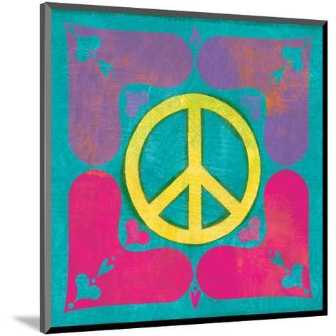 Peace Sign Quilt III-Alan Hopfensperger-Mounted Art Print