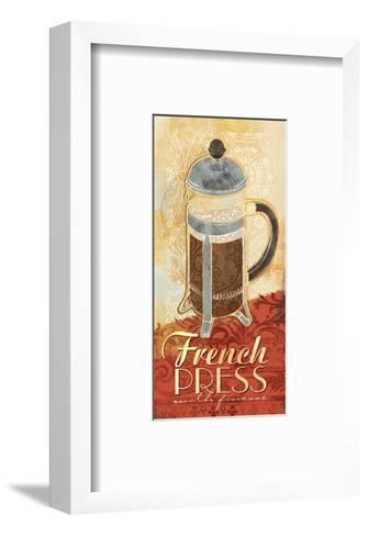 Kitchen Tile French Press-Alan Hopfensperger-Framed Art Print