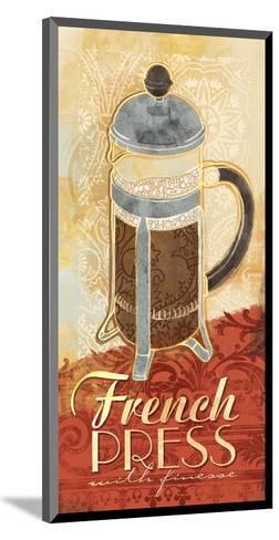 Kitchen Tile French Press-Alan Hopfensperger-Mounted Art Print