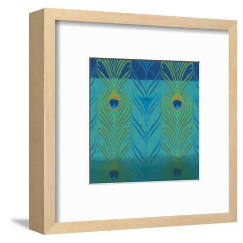 Peacock Bath VI-Alan Hopfensperger-Framed Art Print