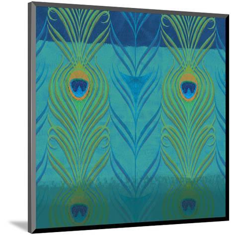 Peacock Bath VI-Alan Hopfensperger-Mounted Art Print