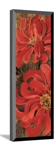 Floral Frenzy Red III-Alan Hopfensperger-Mounted Art Print