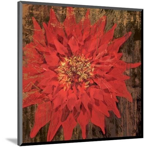 Floral Frenzy Red VI-Alan Hopfensperger-Mounted Art Print