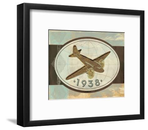 Vintage Plane II-Alan Hopfensperger-Framed Art Print