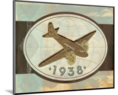 Vintage Plane II-Alan Hopfensperger-Mounted Art Print