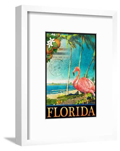 Flamingo-Chris Vest-Framed Art Print