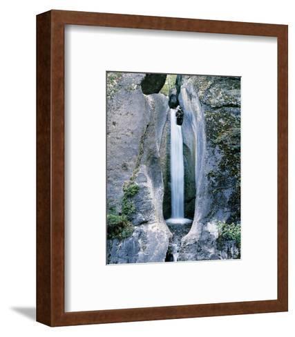 Punchbowl Falls Canada--Framed Art Print