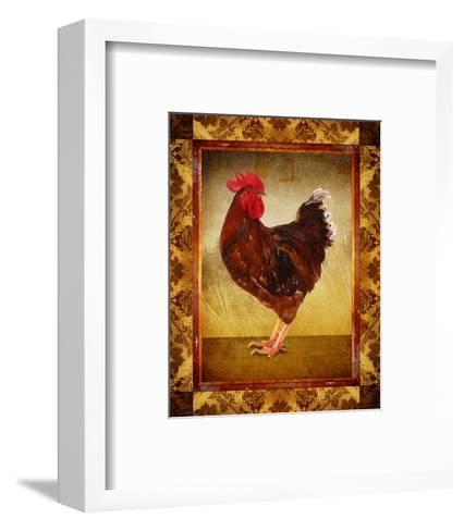 Brown Hen--Framed Art Print