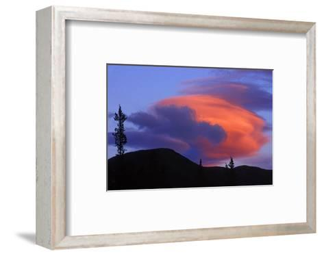 Lenticular Cloud-Mike Grandmaison-Framed Art Print