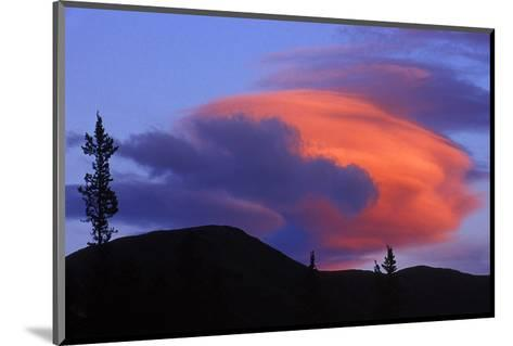 Lenticular Cloud-Mike Grandmaison-Mounted Art Print