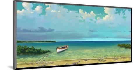 Schooner Island-Rick Novak-Mounted Art Print