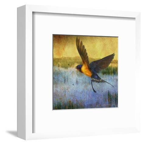 Barnswallow-Chris Vest-Framed Art Print