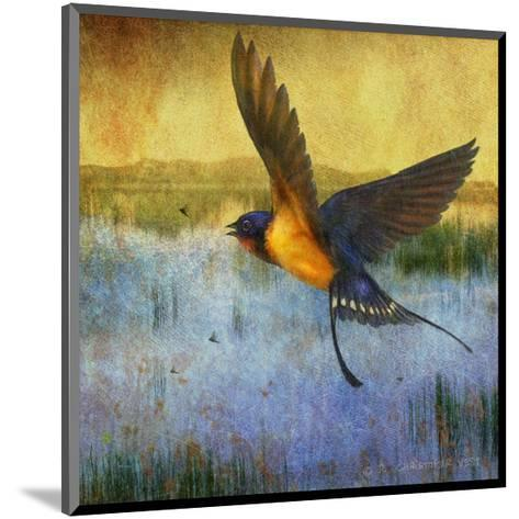 Barnswallow-Chris Vest-Mounted Art Print