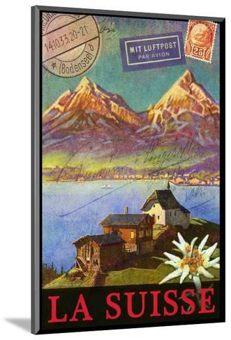 Switzerland, Swiss Mountains, Matterhorn-Chris Vest-Mounted Art Print
