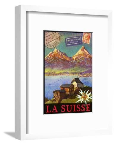 Switzerland, Swiss Mountains, Matterhorn-Chris Vest-Framed Art Print