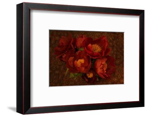 Red Peonies I-Judy Stalus-Framed Art Print