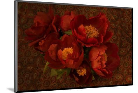 Red Peonies I-Judy Stalus-Mounted Art Print