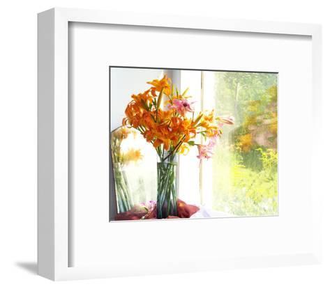 Orange Reflection-Judy Stalus-Framed Art Print
