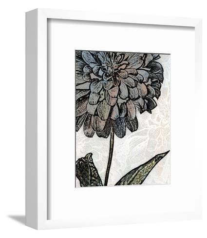 Ink Zinnia I-Christine Zalewski-Framed Art Print
