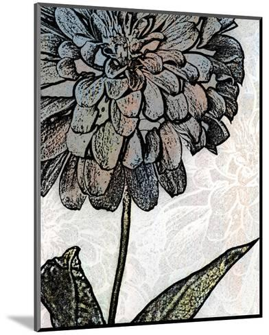 Ink Zinnia I-Christine Zalewski-Mounted Art Print