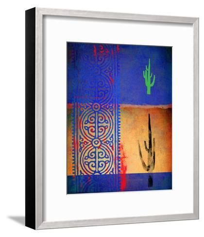 Native Desert I-Parker Greenfield-Framed Art Print