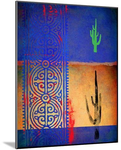 Native Desert I-Parker Greenfield-Mounted Art Print