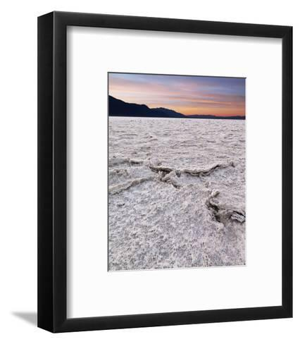 Badwater in Death Valley II-Richard Desmarais-Framed Art Print