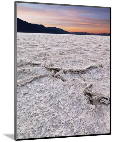 Badwater in Death Valley II-Richard Desmarais-Mounted Art Print