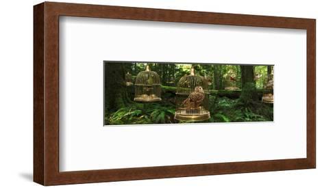 Birdcage Forest-Richard Desmarais-Framed Art Print
