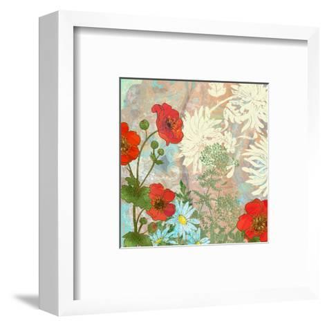 Summer Poppies I-Roberta Collier Morales-Framed Art Print