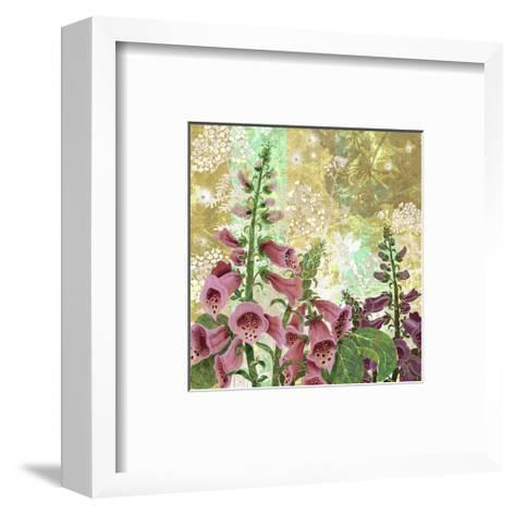 Foxglove Meadow I-Roberta Collier Morales-Framed Art Print