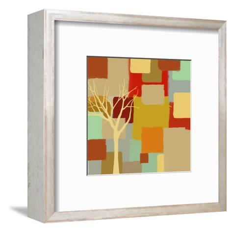 Yellow Tree II-Yashna-Framed Art Print