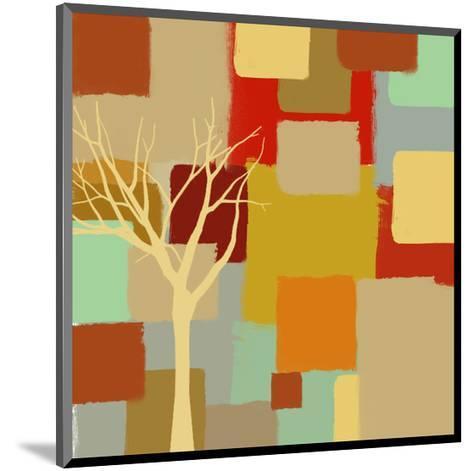 Yellow Tree II-Yashna-Mounted Art Print