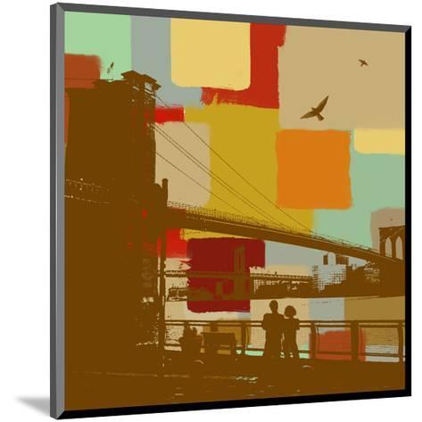Brooklyn Bridge-Yashna-Mounted Art Print